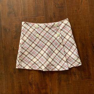 Gymboree plaid skirt, girls size 6.